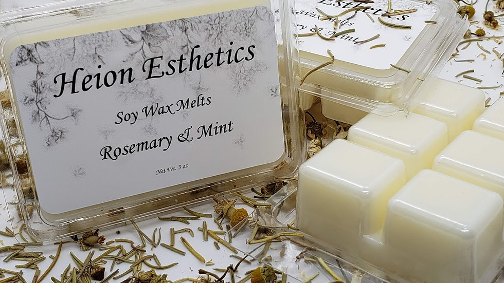 Rosemary and Mint Wax Melts
