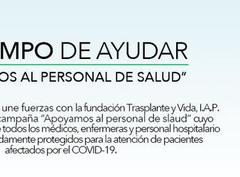 #ESTIEMPODEAYUDAR – APOYEMOS AL PERSONAL DE SALUD