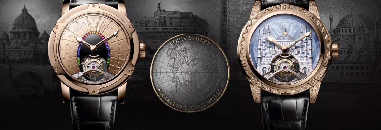 Las 8 Maravillas del Mundo por Louis Moinet