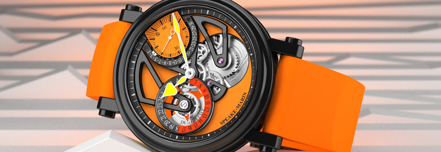 Only Watch News - Speake-Marin One&Two Dual Time Only Watch The Sun