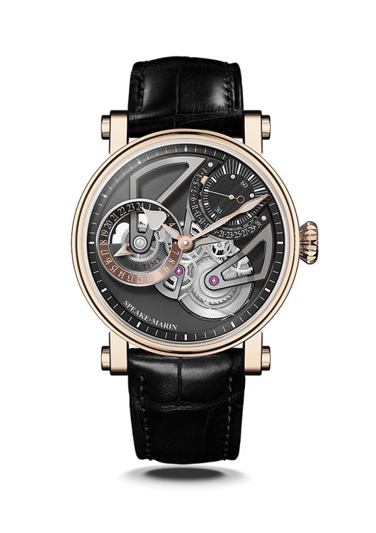 Openworked Dual Time