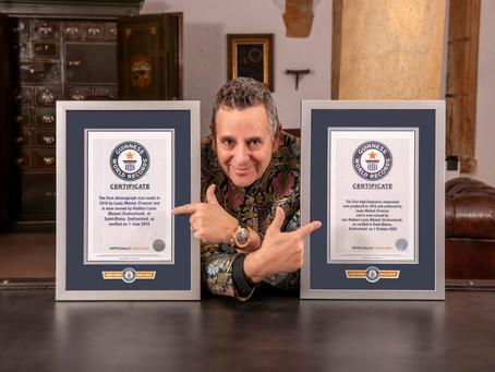 Louis Moinet gana un nuevo Récord Mundial Guinness por el primer cronómetro de alta frecuencia.