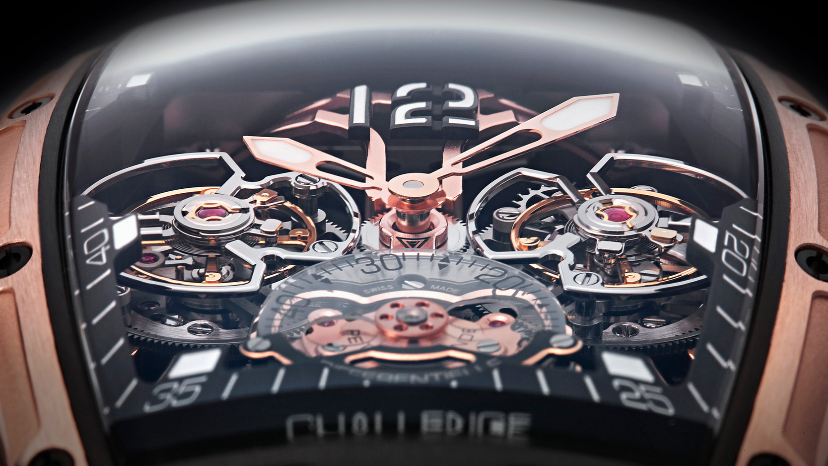 Cvstos Double Tourbillon