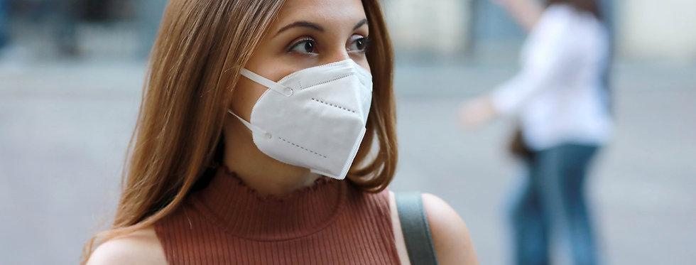 Mundschutzmaske FFP2 KN95 ohne Ventil