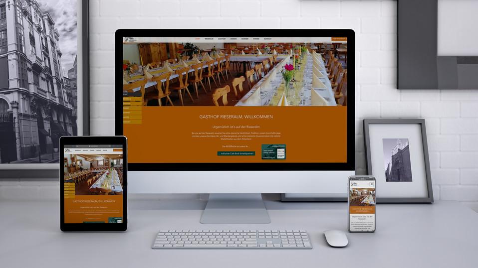 Website Gastronomie