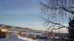 Winterkulisse Pension Römerhof