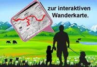 interaktive Wanderkarte Hotel in Reutte