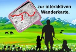interaktive Wanderkarte