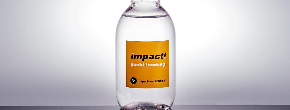Hände Desinfektionmittel mit Grafikdesign