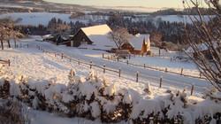 Winterpanorama Römerhof