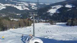 Skifahren Pension Römerhof