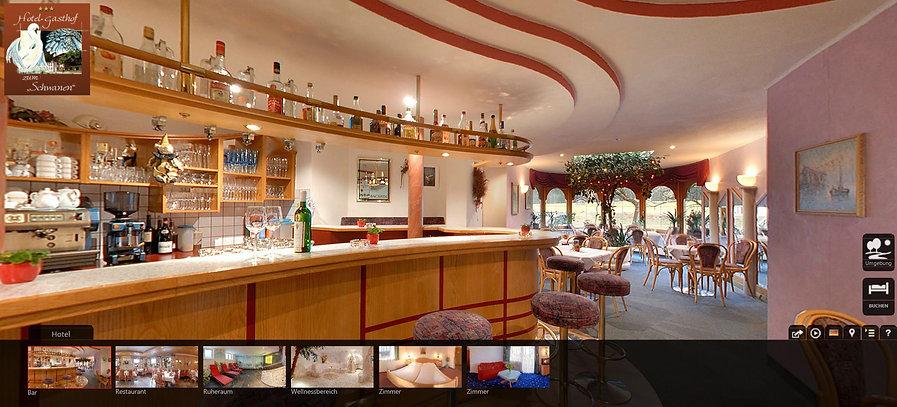 Virtuelle Tour im Hotel Gasthof zum Schwanen - Hotel in Reutte