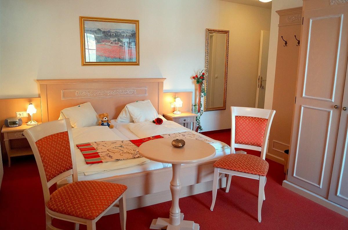 Doppelzimmer im Ferienschlössl