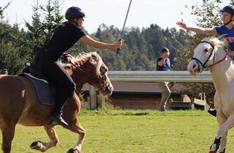 Mounted Games im Reitstall Römerhütte
