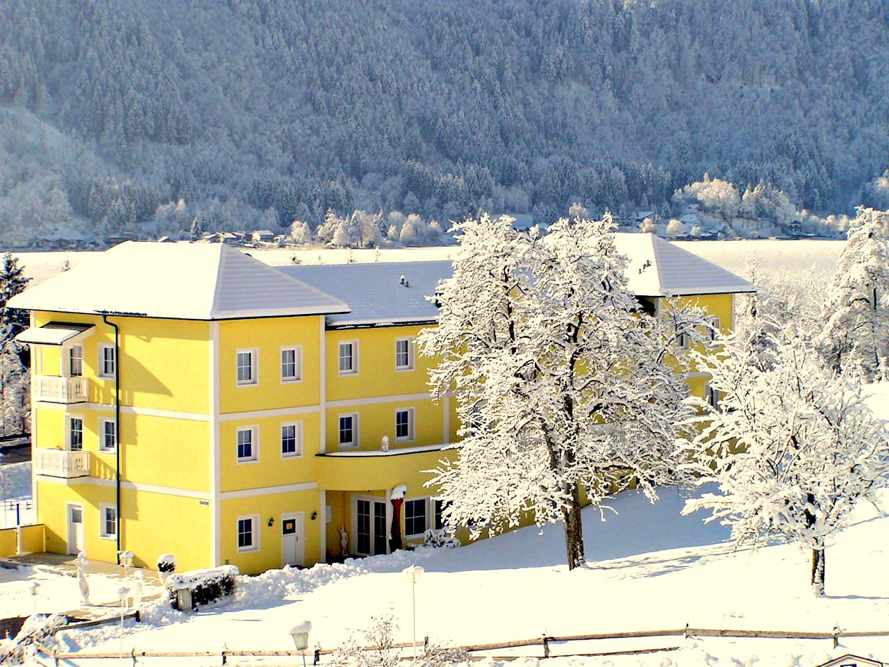 Ferienschlössl in winter scenery