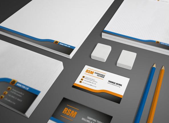 RSM Fertigungstechnik ∙ Geschäftsdrucksorten