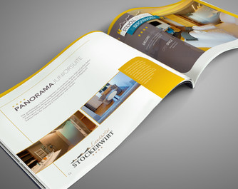 Landhotel Stockerwirt ∙ Broschürendesign
