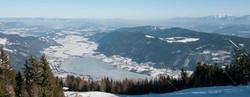 Winterpanorama Ossiachersee