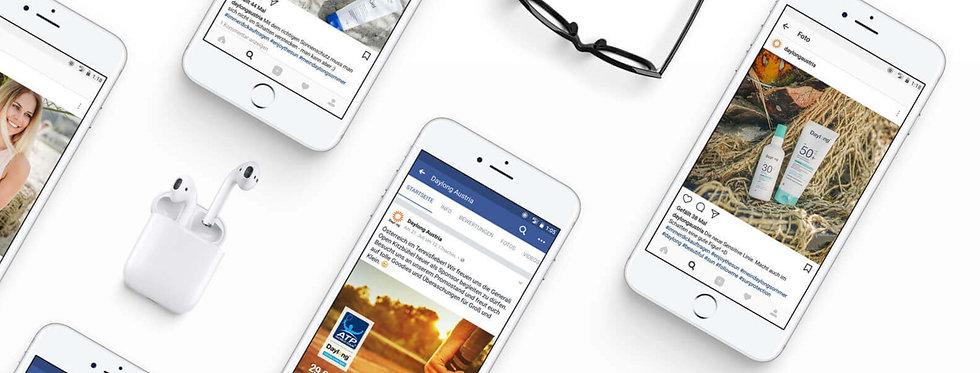FACEBOOK Social Media Kampagne