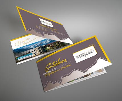 Landhotel Stockerwirt ∙ Gutscheinkartendesign
