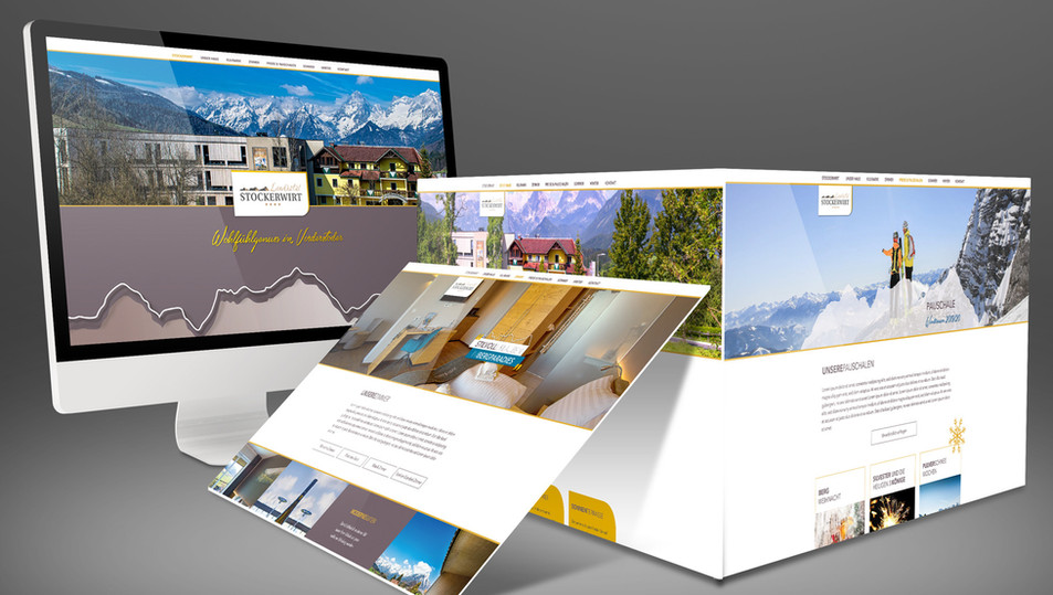 Landhotel Stockerwirt ∙ Website