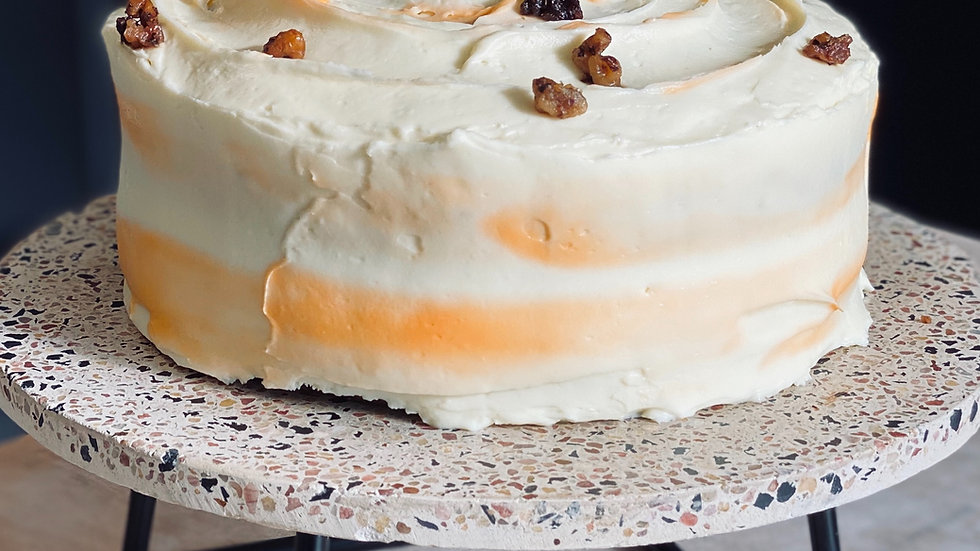 """Whole Carrot Cake with Cream Cheese Frosting (6"""" and 8"""")"""