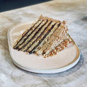 Ferrero Rocher Cake Slice