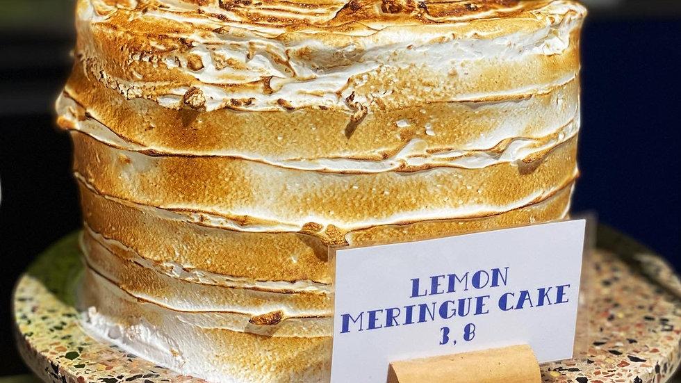 """Whole Lemon Meringue Cake (6"""" and 8"""")"""