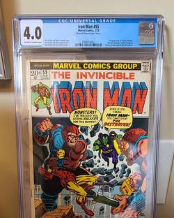Iron Man 55 CGC