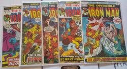 Nice Iron Man books