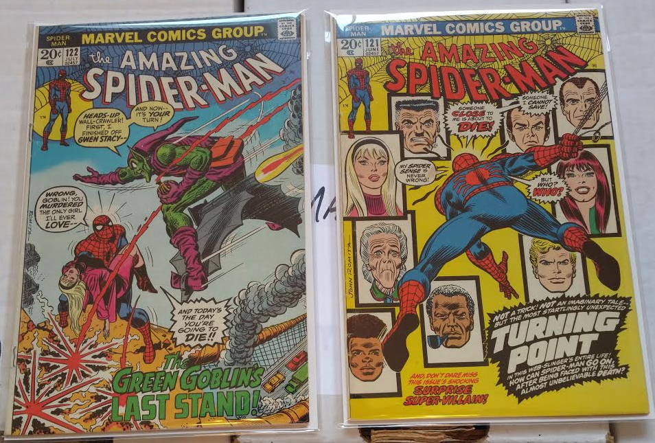 Amazing Spider Man 121, 122