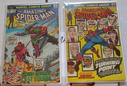 Amazing Spider Man 121, 122
