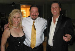 Cody & Barbara with Terry Fator at Hilton