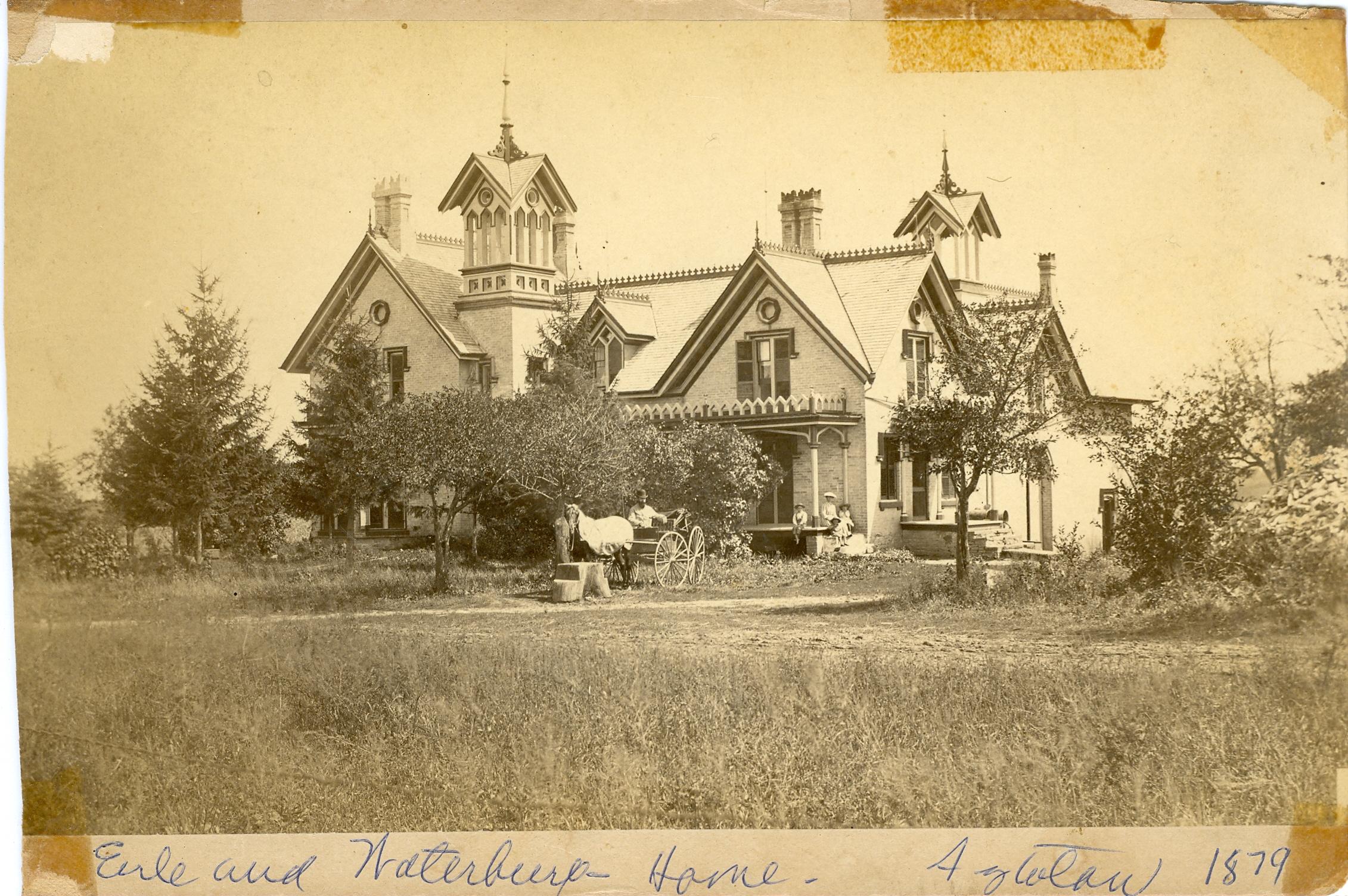 Earle and Waterbury Home Aztalan 1879