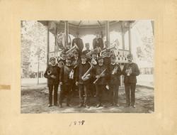 Lake Mills City Band - 1899