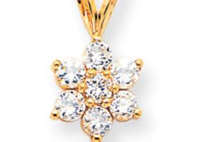 14k A Diamond Pendant
