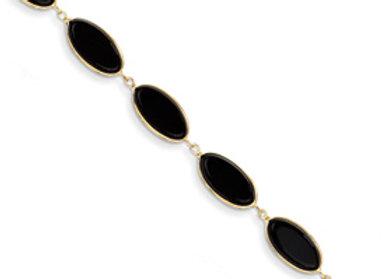 14k Onyx Bracelet