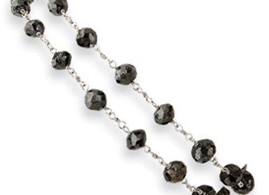 Black Diamond Briolette Bracelet