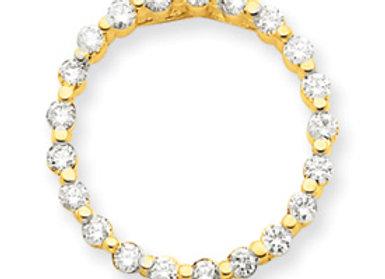14ky VS Diamond Pendant