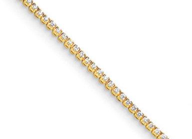 14k AAA Diamond Tennis Bracelet