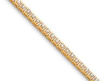 14k VS Diamond Tennis Bracelet