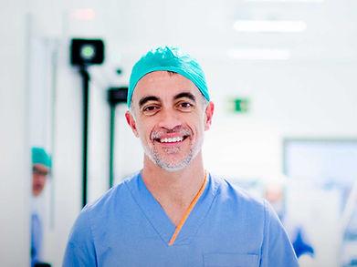 Cirugía robótica da Vinci, Dr. Carles Raventós