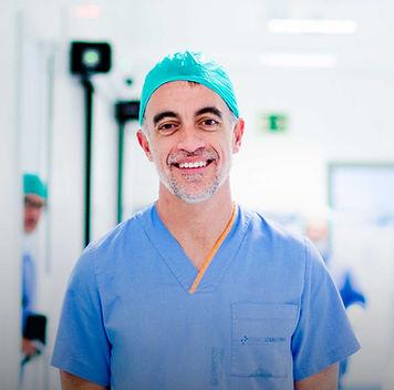Cirugía robótica da Vinci, Dr. Carles Raventos