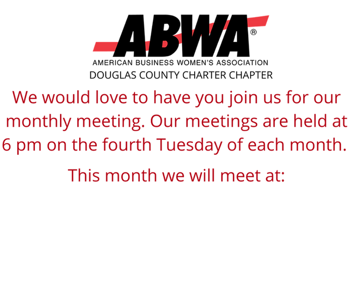 We'd love to have yu join us for our mon