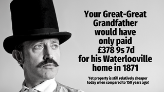 Your Great-Great Grandfather Would Only Have Paid £378 9s 7d for his Waterlooville Home in 1871