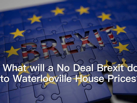 No Deal Brexit – The Prediction for Waterlooville House Prices