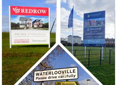 West of Waterlooville - Berewood & Wellington Park Developments