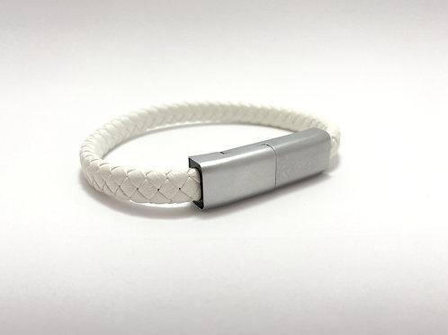 Bracelet Blanc et Gris