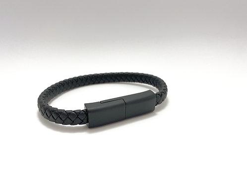 Bracelet Noir et Noir mat