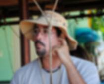 Guide et propriétaire de la plantation Grand Café en guadeloupe